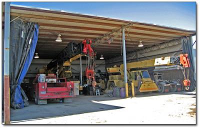 Crane Repair Shop Houston